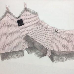 Nanette Lepore LRG 2 pc PJ Sleep Outfit Pajamas
